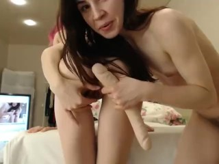 Lesbian Anal Show – Done With A Smile