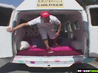 BrokenTeens – Fucked By the Icecream Man's Long Popsicle