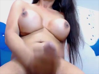 Watch me jerk my hard cock