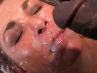 she takes a lot of cum