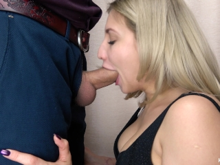 Young girl getting fucked by a horny senior