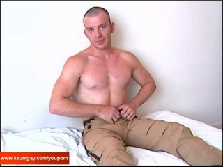 Yan my str8 neighbour made a porn where he gets wanked by a guy!