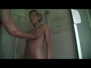 Anal ass to mouth in the shower did it for 1hottie