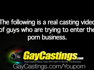 HD – GayCastings Cute guy who loves sex wants to be paid for it
