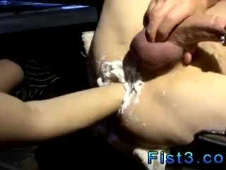 Twink male gay sex with dudes Reagan Fucks & Fists