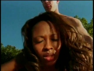 Ebony pussy snack by the pool – Future Works