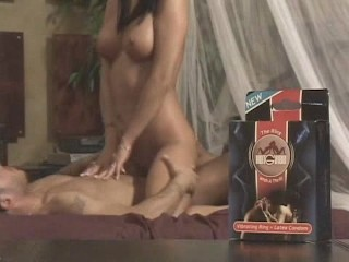 Malezia Using a Vibrating Cock Ring With a Guy
