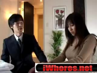 Asian Japanese Housewife Having