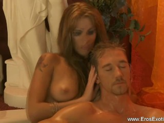 Lovely Blonde Perfect Massage