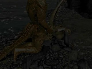 Private sex of Argonians Ep2