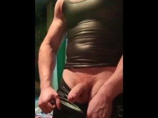 muscle leather alpha