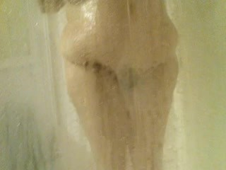 Bbw wife shower and after
