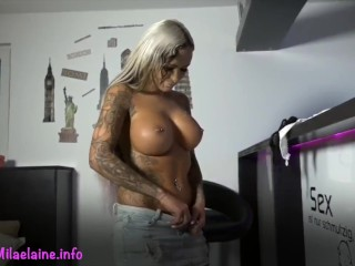 Stepfather fucks me while visiting