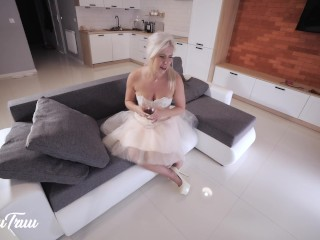 Cinderella on CASTING COUCH – 4K Extreme THROATFUCK Training and Throatpie