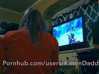Riding While He Plays Overwatch – KittenDaddy