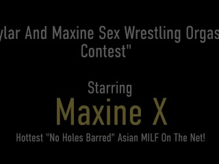 Who Cums First? Maxine X And Skylar Harris In Hot Sex Fight!