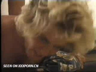 Horny blonde gets fucked