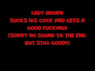 Lady Adorn gets it from behind!!!