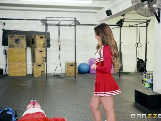 Cheerleader Needs a Stud To Fuck Her – Brazzers