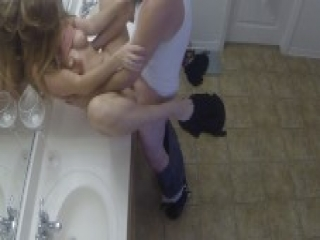 Hot Amateur Couple Taylor and Cole Bathroom Sex-TaylorTrust