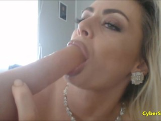 Big Ass Blonde With Huge Boobs Solo