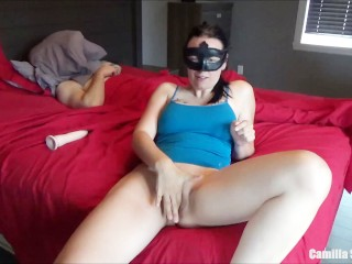 Morning Sex & Masturbation For Big Tits Wife, Wake Up Husband For Facial