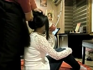 Casting Chinese Hairjob 8