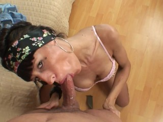 Dirty and humiliating sex with skinny and slut girl