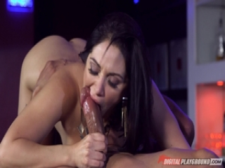 Lea Lexus drilled in her sweet tight pussy pie pudding