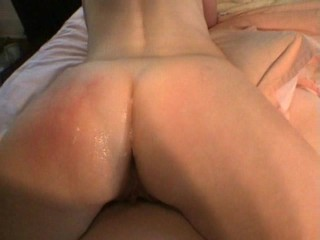 Blonde wife fucked and spanked making her cum