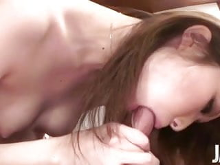 Cum hungry Rinka Kanzaki pounded and filled with hot cum