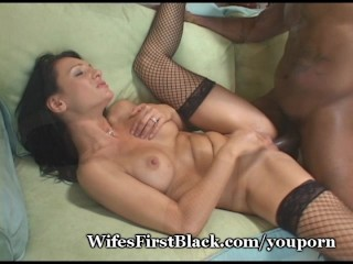 Hot Frau Guzzles First Black