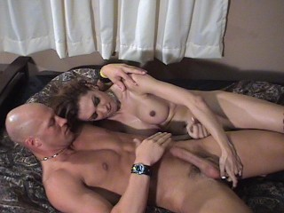Giselle fucking her bald man – Dane Productions