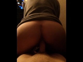 Riding daddys dick