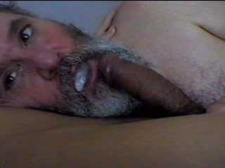 Daddy Bear blows and swallows