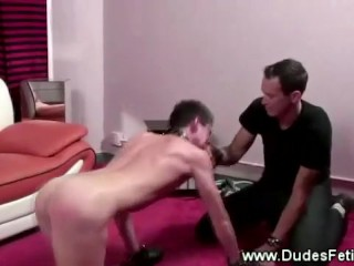 Gay acting like pet for dominant owner