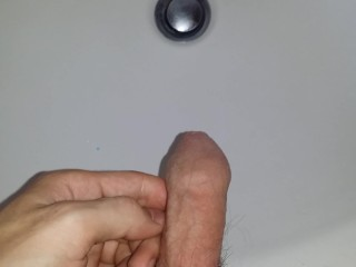 Pissing in the sink