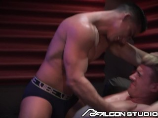 FalconStudios Ryan Rose Slammed by Stripper