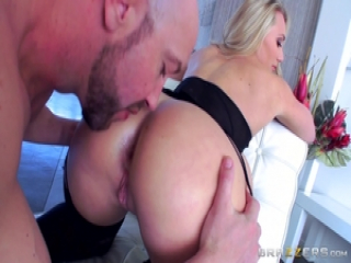 Bubble butted AJ Applegate getting a rampant rump fuck