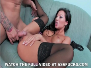 Asa Akira Gets Pounded deep and tight in hot pussy