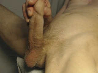 Banister – wet cumshot from a big dick