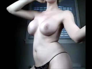 Tranny Teases Your Cock on Webcam