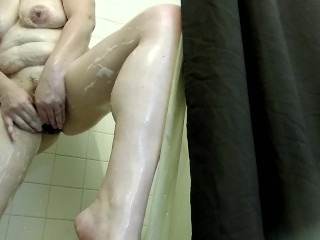 Fun in the shower with Trinity Rayne