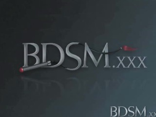 BDSM XXX Horny sub is bound gagged and fucked