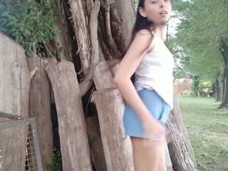 Outdoor Abuse On Extreme Tight Young Pussy SCREAMING TEEN GET CUM ON TITS