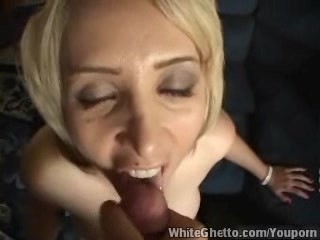 White Ghetto – Awesome blond made me cum good