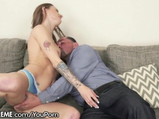 Grandpa goes Hard with Young Polish Babe