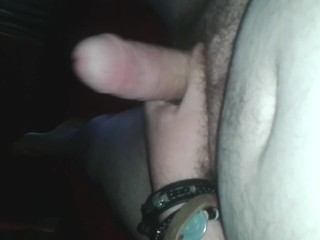 After Cumming  Sensitive Wank Right To The Edge