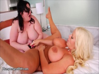 Alura Jensen and Eliza Allure Eat Pussy Each Other