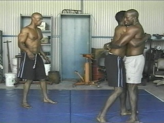 Blacks Wrestling
